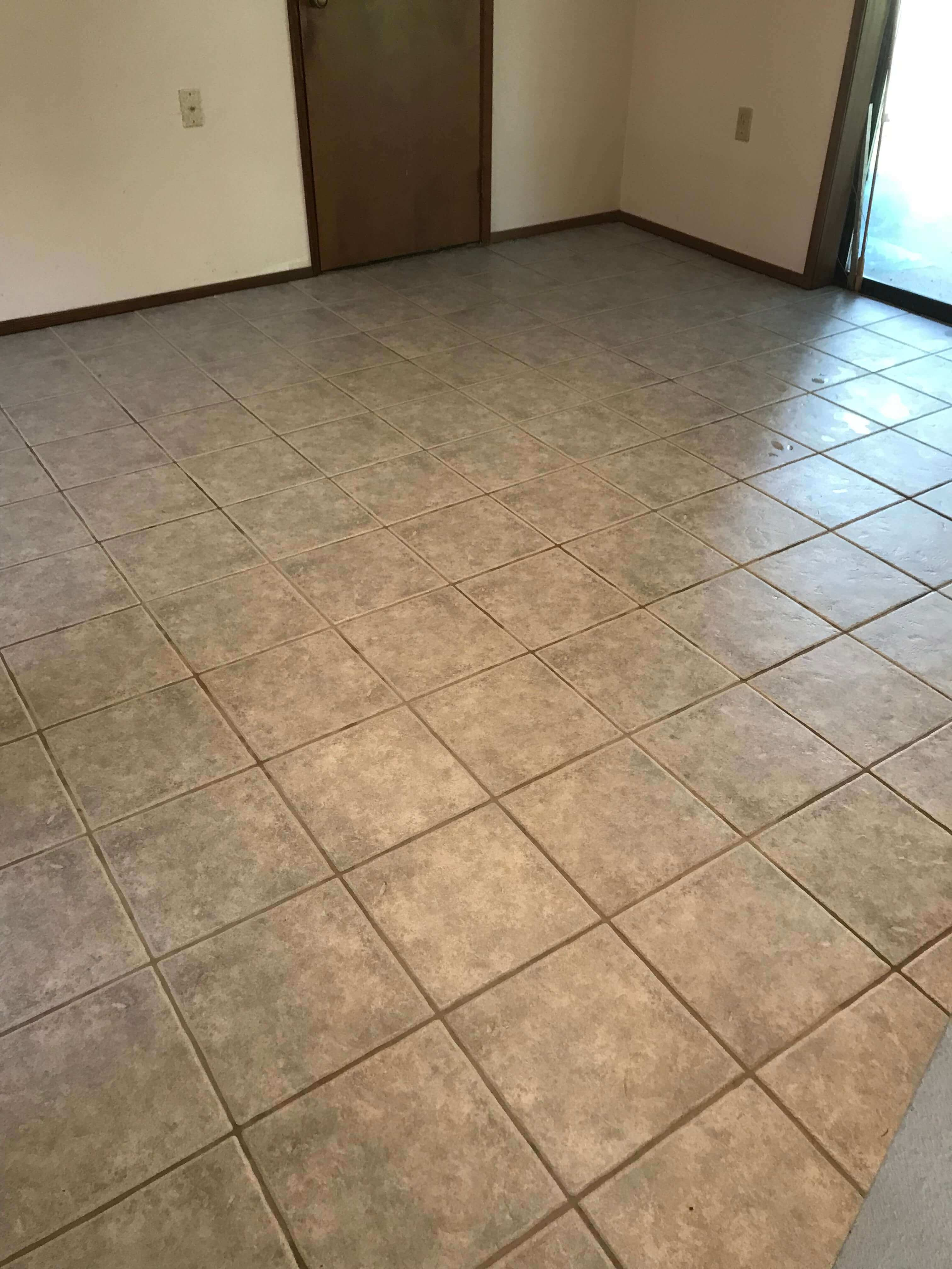 tiles that green leaf chem-dry recently cleaned
