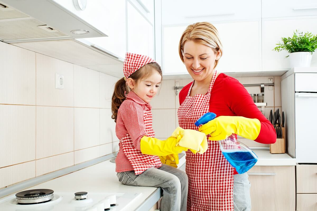 Image result for family cleaning