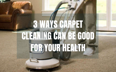 3 Ways Chem-Dry Carpet Cleaning Can Be Good For Your Health